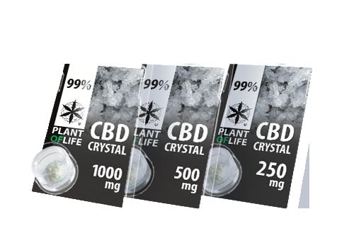 CRISTAL CBD 99% PLANTOFLIFE